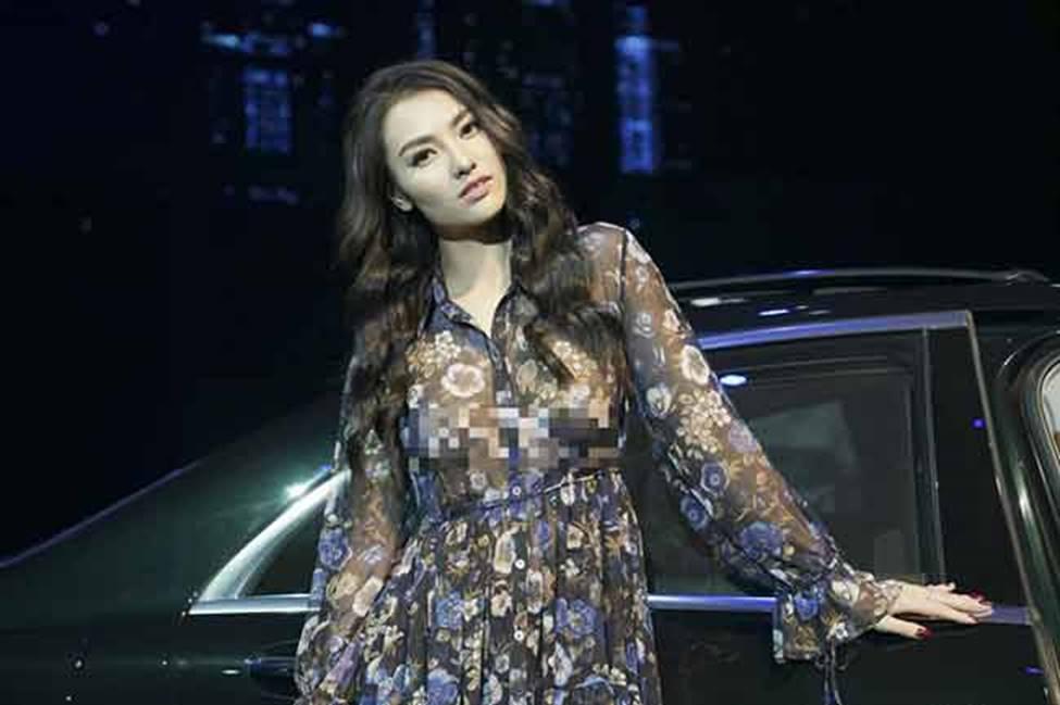 Sau khi trở lại, Hồng Quế vẫn liên tiếp gây ồn ào với cách ăn mặc gái hư-7