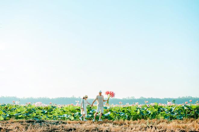 Đã lùng ra địa chỉ cánh đồng sen rộng bát ngát tại An Giang: Thiên đường sống ảo là đây chứ đâu nữa!-2