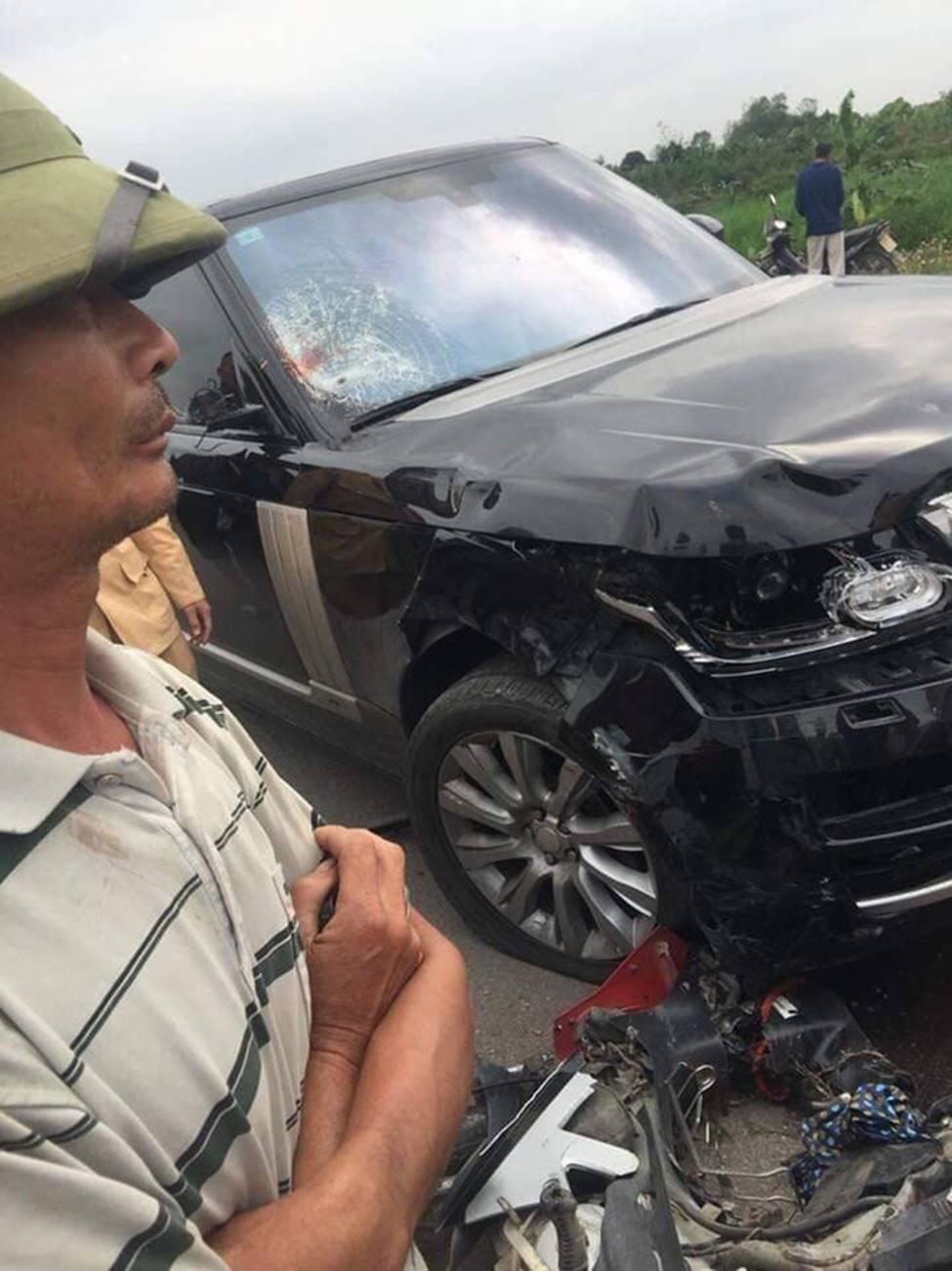 Hưng Yên: Chồng tử vong, vợ nguy kịch sau khi va chạm với xe Range Rover-1
