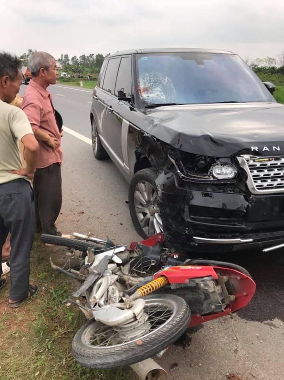 Hưng Yên: Chồng tử vong, vợ nguy kịch sau khi va chạm với xe Range Rover-3