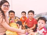 Chụp ảnh bên 5 đứa trẻ, bà mẹ 9x bỗng thành người mượn con hàng xóm 'câu like' và sự thật đằng sau