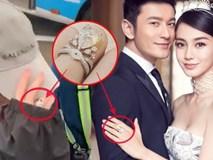 Cuối cùng Angela Baby đã chịu đeo nhẫn cưới, khẳng định cuộc hôn nhân với Huỳnh Hiểu Minh vẫn hạnh phúc