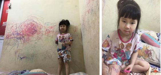 Hậu trường thú vị của loạt ảnh mẹ thiếp ngủ, chị biến người em thành không gian sáng tác nghệ thuật được nhiều người đồng cảm-2