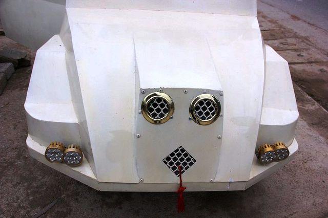 """9x Nghệ An tự chế siêu xe"""" từ động cơ xe máy-1"""