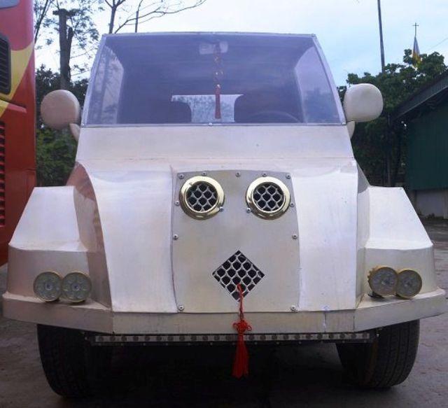 """9x Nghệ An tự chế siêu xe"""" từ động cơ xe máy-5"""