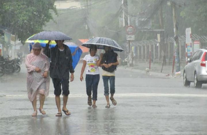 Bắc Bộ mưa rào, Nam Bộ nắng nóng ngày đầu tuần-1