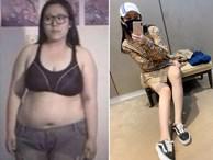 Từng bị cười nhạo vì thân hình hơn hơn 1 tạ, cô gái trẻ quyết tâm 'lột xác', giảm 68kg chỉ trong vòng 100 ngày