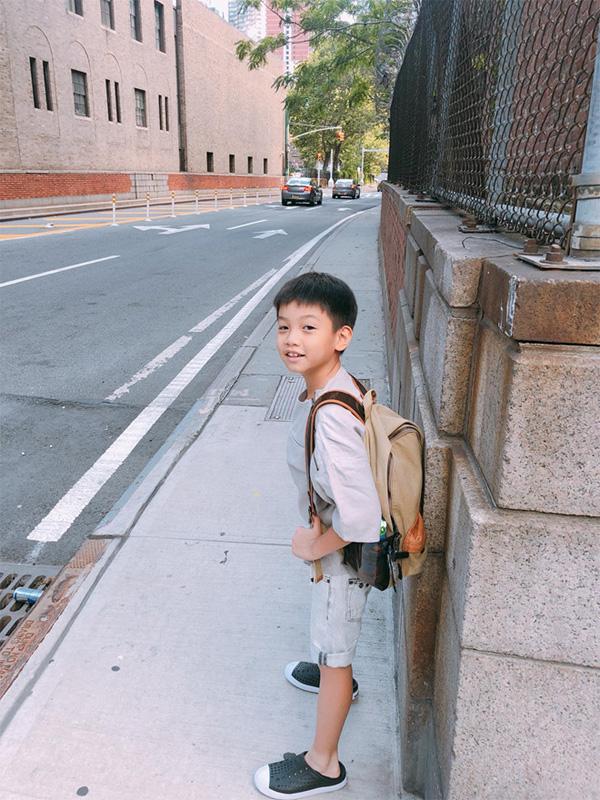 Con trai Cường Đô La - Hà Hồ lớn phổng phao, học giỏi, thích thể thao-12