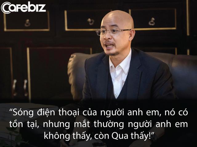 Ông Đặng Lê Nguyên Vũ nói về sự phi thường của bản thân: Mắt nhìn được sóng ĐT, hiểu mọi khoa học, kể cả trường sinh bất tử-1