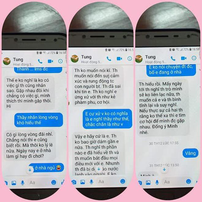 """Nghi án thầy giáo trường chuyên nhắn tin gạ tình"""" nữ sinh lớp 10, Sở GD&ĐT Thái Bình yêu cầu làm rõ vụ việc-2"""