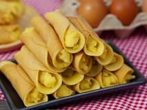 Có món bánh cuộn làm chẳng cần lò nướng mà ngon đẹp cực kỳ