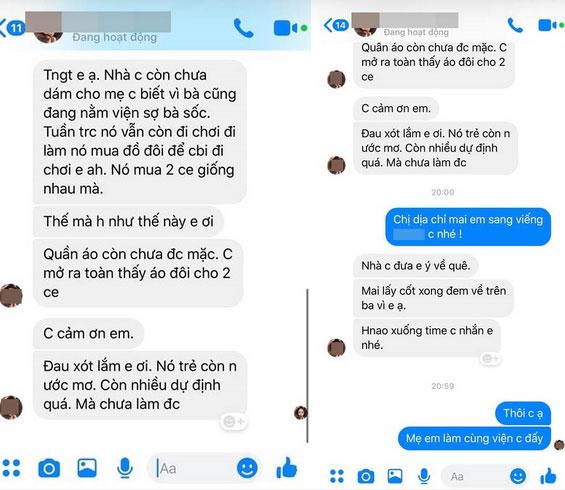 Tai nạn bán hàng online: Chủ shop nhắn tin đòi tiền gặp khách hàng giả vờ tai nạn chết, quỵt trắng gần 2 triệu-3