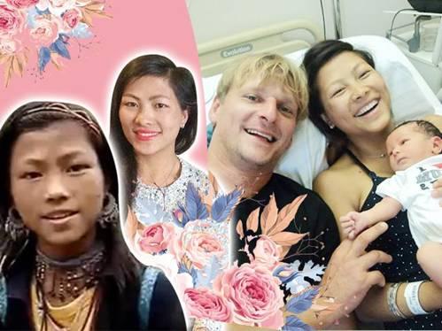 Đẻ liền 2 con, cô bé H'Mông nói tiếng Anh như gió ngạc nhiên với thái độ mẹ chồng Bỉ-1