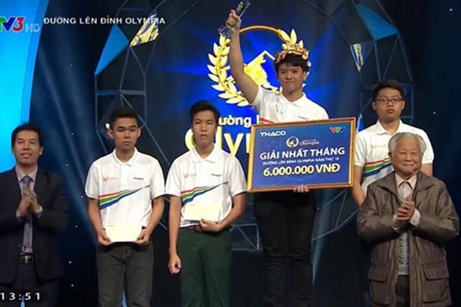 Chàng trai san bằng kỷ lục Olympia 18 năm: Mình không thần tượng quán quân-5