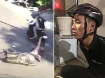 Người phụ nữ đang mang thai bị 2 tên cướp giật túi xách, kéo lê trên đường phố