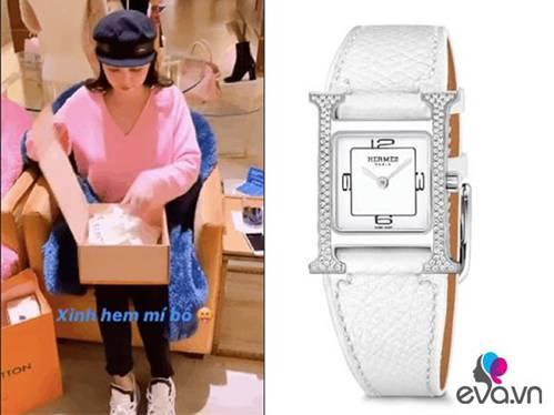 Bóc giá chiếc đồng hồ đính 122 viên kim cương lấp lánh mới nhất của Ngọc Trinh-2