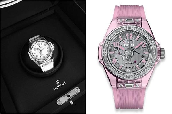 Bóc giá chiếc đồng hồ đính 122 viên kim cương lấp lánh mới nhất của Ngọc Trinh-5