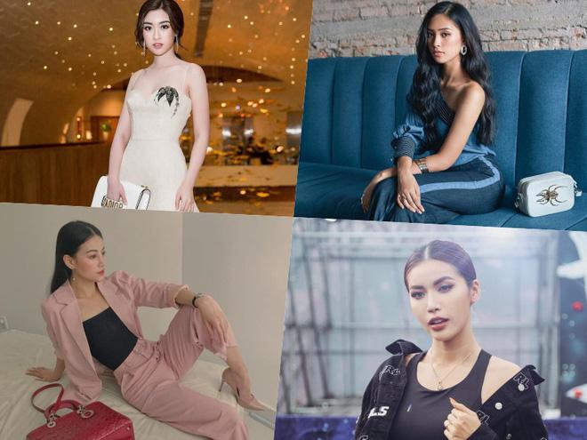 Đo độ chất chơi của 4 hoa hậu: Đỗ Mỹ Linh, Tiểu Vy có thất thế trong cuộc đua hàng hiệu với Minh Tú và Phương Khánh?-1