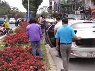 Lãnh đạo cty cây xanh đề nghị trích xuất camera tìm những người đánh ô tô 'hôi hoa' ở trung tâm Hà Nội