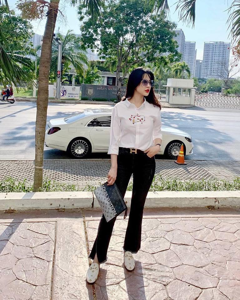 Thêm 1 mẫu áo sơ mi quốc dân lấy lòng từ hoa hậu Kỳ Duyên, Phương Khánh đến các cầu thủ như Văn Thanh, Bùi Tiến Dũng-4