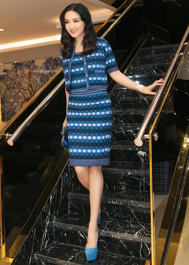 Hoa hậu Giáng My thả dáng sang chảnh với cây đồ hiệu-6