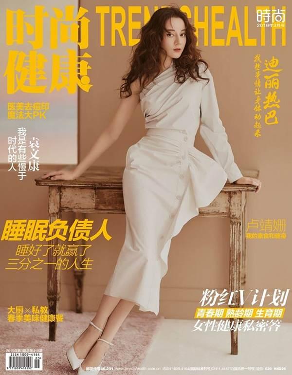 'Mỹ nhân Tân Cương' Địch Lệ Nhiệt Ba đẹp không tì vết trên tạp chí-2