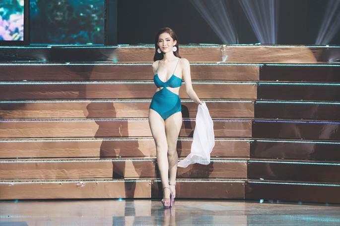 Đỗ Nhật Hà khoe vẻ đẹp hình thể, tự tin trình diễn bikini tại 'Hoa hậu Chuyển giới Quốc tế 2019'-1