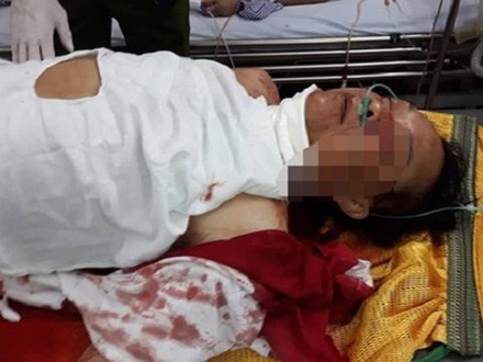 Thầy cúng truy sát nhà hàng xóm, giết hại 2 người ở Nam Định đã chết