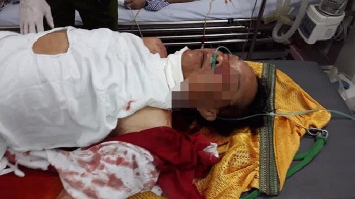 Thầy cúng truy sát nhà hàng xóm, giết hại 2 người ở Nam Định đã chết-1