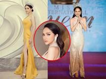 Những khoảnh khắc đẹp tựa nữ thần giúp Hương Giang càn quét dàn mỹ nhân trong nước và quốc tế
