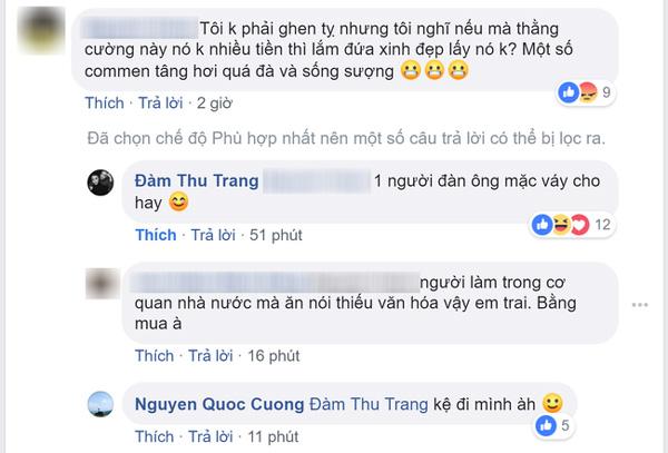Đàm Thu Trang đáp trả gay gắt khi chồng bị mỉa mai giàu mới lấy được vợ đẹp, Cường Đô La lại nhẹ nhàng thế này-2