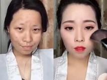 Màn lột xác ảo diệu nhờ make up khiến dân mạng kinh ngạc