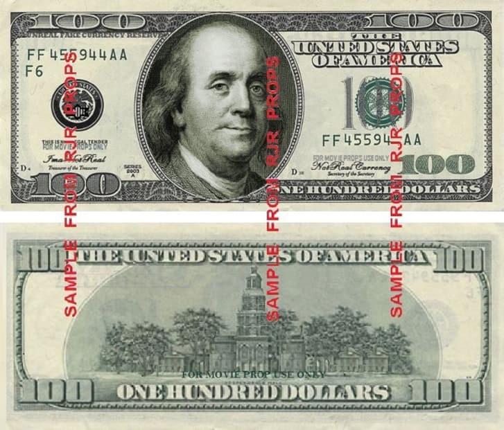 Ai cũng biết tiền trên phim không phải thật nhưng bạn có thắc mắc nó được tạo ra như thế nào?-5