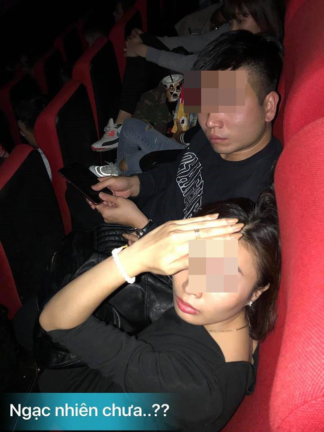 Bắt quả tang chồng và bồ trong rạp chiếu phim, vợ điếng người bởi câu nói của tình địch-2