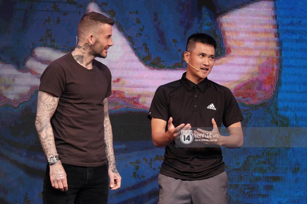 Khoảnh khắc hiếm có: Lần đầu tiên David Beckham, Công Vinh, Duy Mạnh hội ngộ trong một khung hình-2