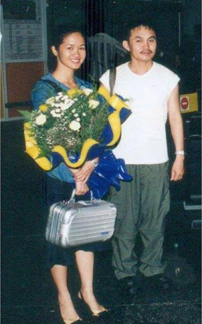 Xuân Hinh khoe ảnh chụp với Hồng Nhung thời trẻ-1