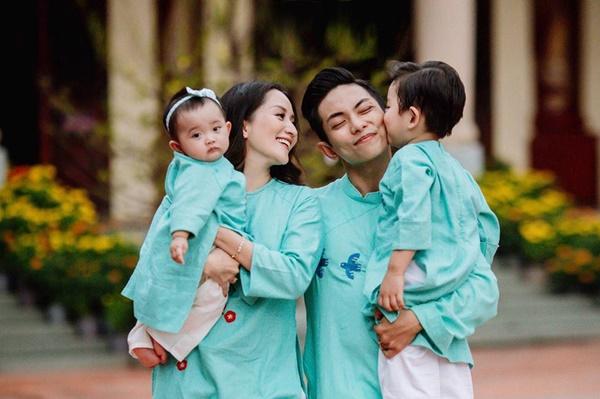 4 mỹ nhân Việt bị tình cũ phụ bạc, giờ được bù đắp bằng người chồng yêu thương hết mực-10