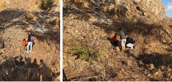 Clip: Nam thanh niên Vũng Tàu liều lĩnh leo núi đá cheo leo bằng tay không rồi bất ngờ rơi xuống khiến nhiều người thót tim-5