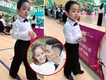 Không muốn con trai theo nghệ thuật nhưng nhìn hành động này của bé Kubi, Khánh Thi - Phan Hiển lại phải