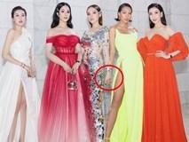 Nhìn bức ảnh Kỳ Duyên cùng Minh Triệu 'đọ dáng' bên dàn mĩ nhân, fan phát hiện điều gì đó khá sai?