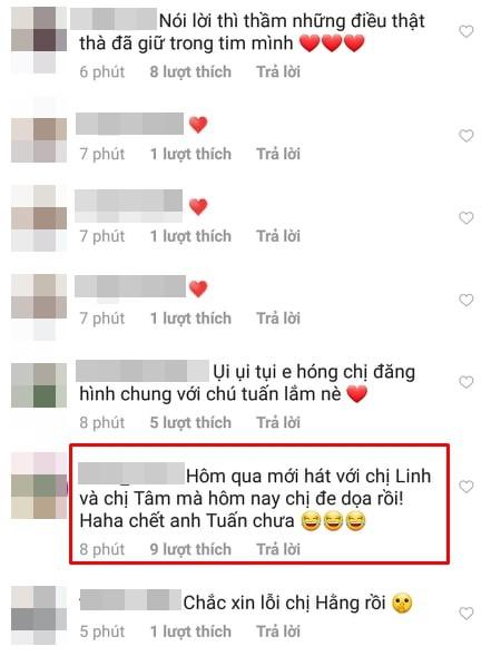 Hà Anh Tuấn vừa chung sân khấu với Mỹ Tâm và Phương Linh, Thanh Hằng đã có ngay động thái dằn mặt?-3