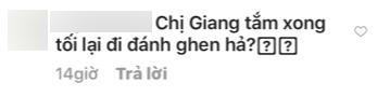 Khoe bạo với ảnh bán nude trong bồn tắm, Hoa hậu Hương Giang lại bị hỏi: Chuẩn bị đi đánh ghen à?-5