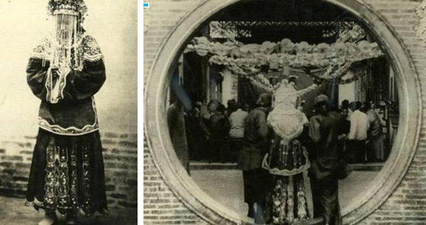 Ảnh hiếm về cách tổ chức hôn lễ của một gia đình quý tộc Trung Quốc thời nhà Thanh-11