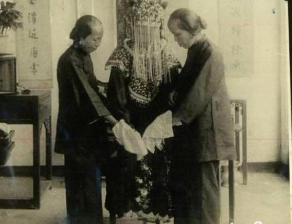 Ảnh hiếm về cách tổ chức hôn lễ của một gia đình quý tộc Trung Quốc thời nhà Thanh-12