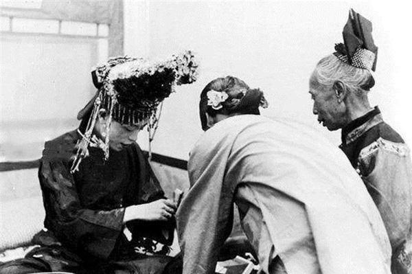 Ảnh hiếm về cách tổ chức hôn lễ của một gia đình quý tộc Trung Quốc thời nhà Thanh-9