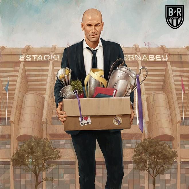 Ảnh chế hài hước nhân ngày Zidane - ông vua danh hiệu thế giới trở lại dẫn dắt Real Madrid-4