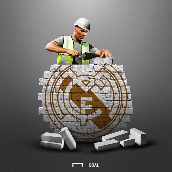 Ảnh chế hài hước nhân ngày Zidane - ông vua danh hiệu thế giới trở lại dẫn dắt Real Madrid-1