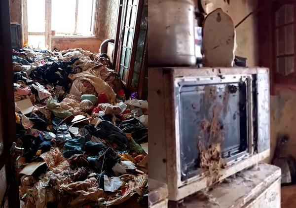 Bé gái bị bỏ rơi trong căn nhà ngập rác, gián, không biết nói và giao tiếp xã hội-2