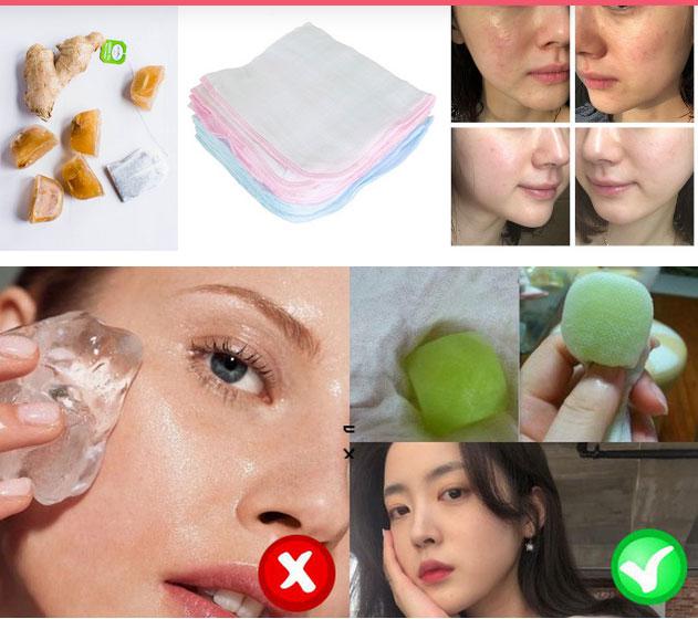 Làn da sẽ hưởng cả tá tác dụng khi lấy đá lạnh lăn lên mặt, nhưng nếu dùng sai cách thì da xấu không cứu vãn nổi-5