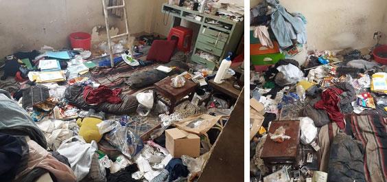 Nhân viên bảo dưỡng điều hòa khóc thét khi đến nhà khách mà tưởng sa nhầm bãi rác, nhìn lọc gió điều hòa mà suýt ngất-2